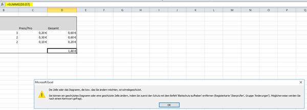 Excel Zellen SchГјtzen Ohne Blattschutz