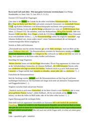 texte für textgebundene erörterung