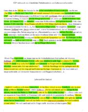 textanalyse louis - Einleitung Errterung Beispiel